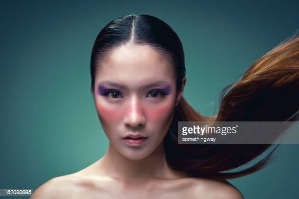 Make-up of Asian woman