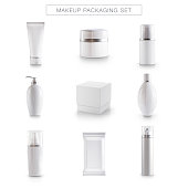 Cosmetics Products Template, package , Make-Up, Moisturizer