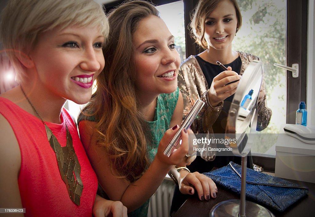Makeup party : Stock Photo
