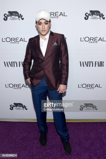 Makeup vlogger Manny Mua attends Vanity Fair and L'Oreal Paris Toast to Young Hollywood hosted by Dakota Johnson and Krista Smith at Delilah on...