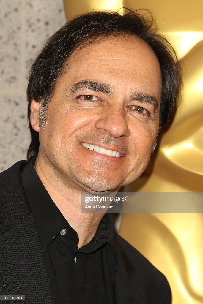 Makeup/Hairstylist Peter Montagna attends The Academy Of Motion Picture Arts And Sciences Presents Oscar Celebrates: Makeup And Hairstyling at the Academy of Motion Picture Arts and Sciences on February 23, 2013 in Beverly Hills, California.