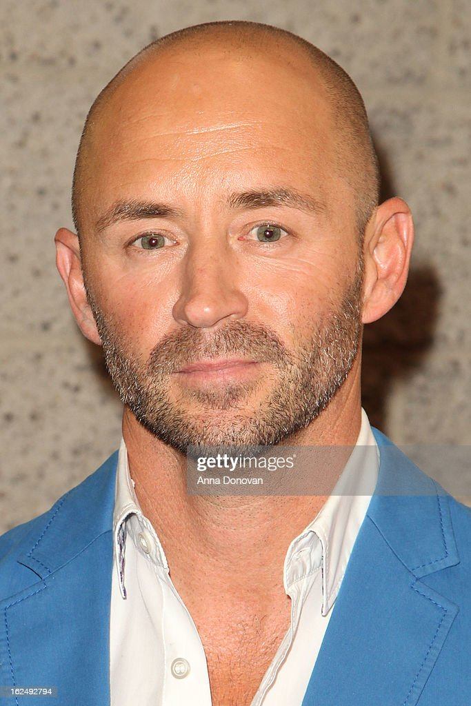 Makeup/Hairstylist Rick Findlater attends The Academy Of Motion Picture Arts And Sciences Presents Oscar Celebrates: Makeup And Hairstyling at the Academy of Motion Picture Arts and Sciences on February 23, 2013 in Beverly Hills, California.