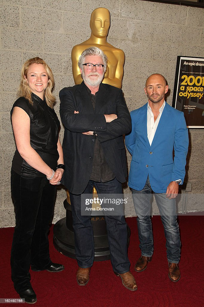Makeup/Hairstylists Tami Lane, Peter Swords King and Rick Findlater attend The Academy Of Motion Picture Arts And Sciences Presents Oscar Celebrates: Makeup And Hairstyling at the Academy of Motion Picture Arts and Sciences on February 23, 2013 in Beverly Hills, California.
