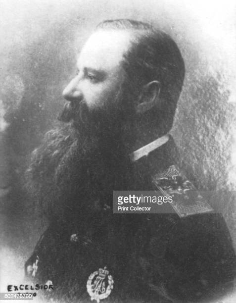 Makharoff' c1893 Stepan Osipovich Makarov admiral of the Imperial Russian Navy From the 2e collection [Felix Potin c1893] Artist Unknown