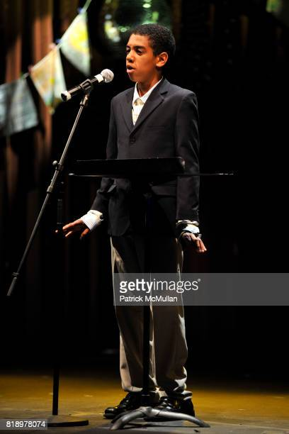 Maki attends The East Harlem School presents 2010 Spring Poetry Slam at Highline Ballroom on May 4 2010 in New York City