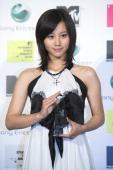 Maki Horikita during MTV STUDENT VOICE AWARDS 2006 powered by Sony Ericsson Press Room at STUDIO COAST in Tokyo Japan