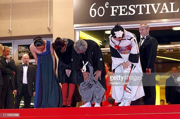 Makiko Watanabe Machiko Ono Shigeki Uda and Naomi Kawase director