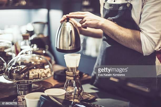 Faire un café
