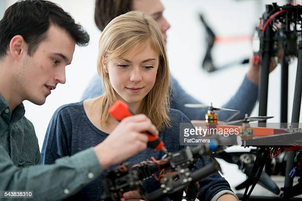 Making a Drone in Tech College