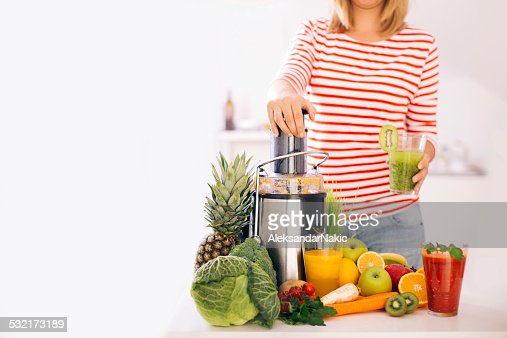Making a healthy drink