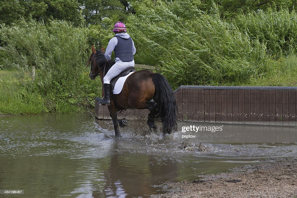 Making a splash. : Stock Photo
