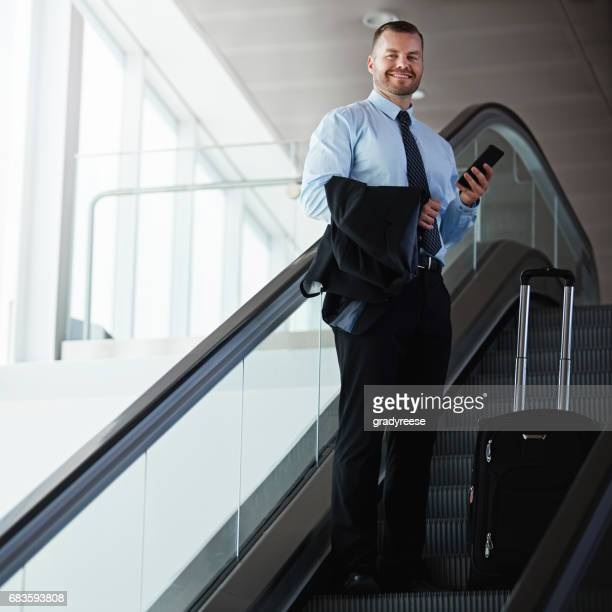 Making business travel an enjoyable experience