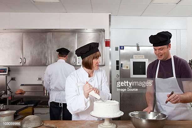 Der Kuchen in Gewerbliche Küche