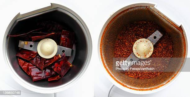 Making chili powder