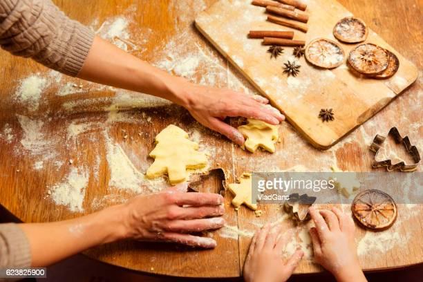 Die Weihnachten Kekse