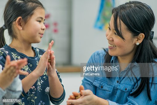 Making Cookies Together : Stock Photo