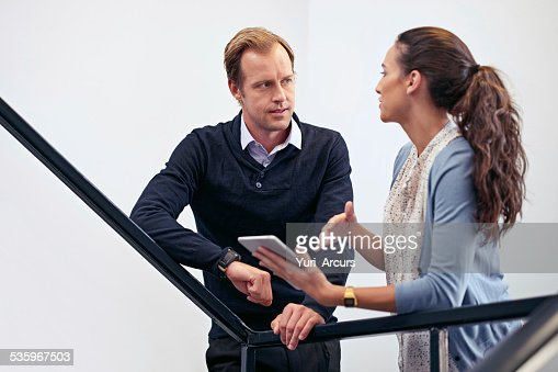 Making decision on the go : Stock Photo