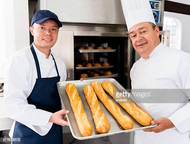 Faire du pain frais