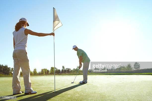 チームスポーツをゴルフィング