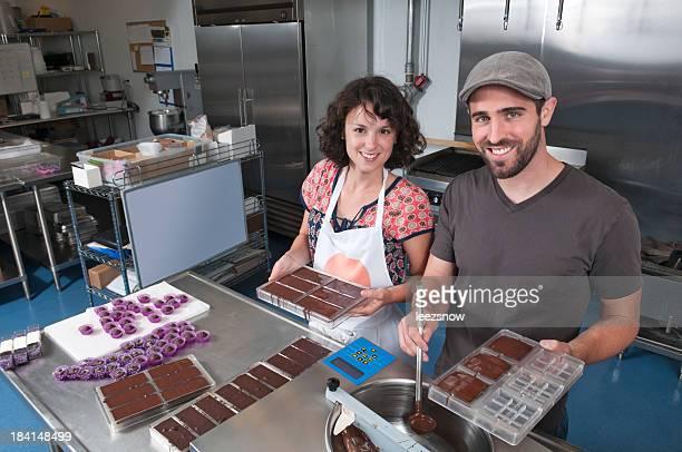 Making Hand Made Chocolates - Series