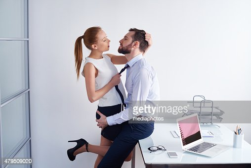 Making love at office