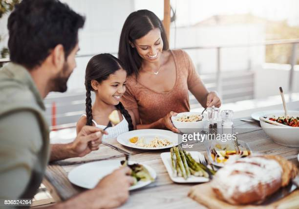 Die Mahlzeit Zeit, Zeit mit der Familie