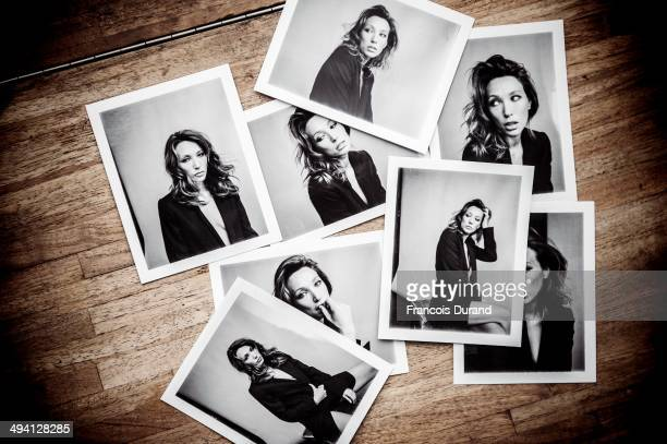Making off of the shooting with actress Laura Smet by Nicolas guerin for Self Assignment on April 8 2014 in Paris France