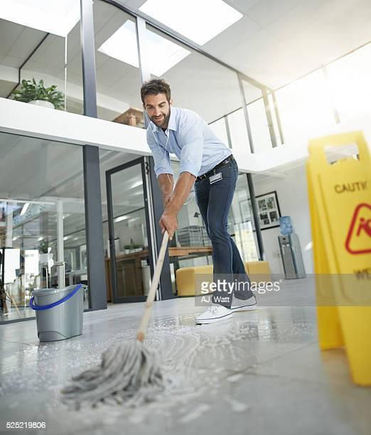 Assurez-vous que le sol est agréable et propre