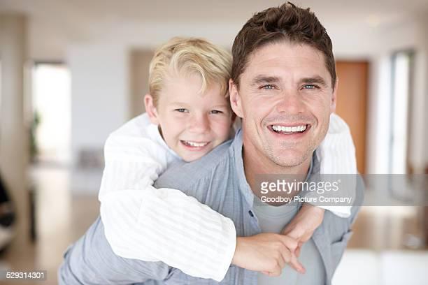 Ce temps de bond, avec son fils