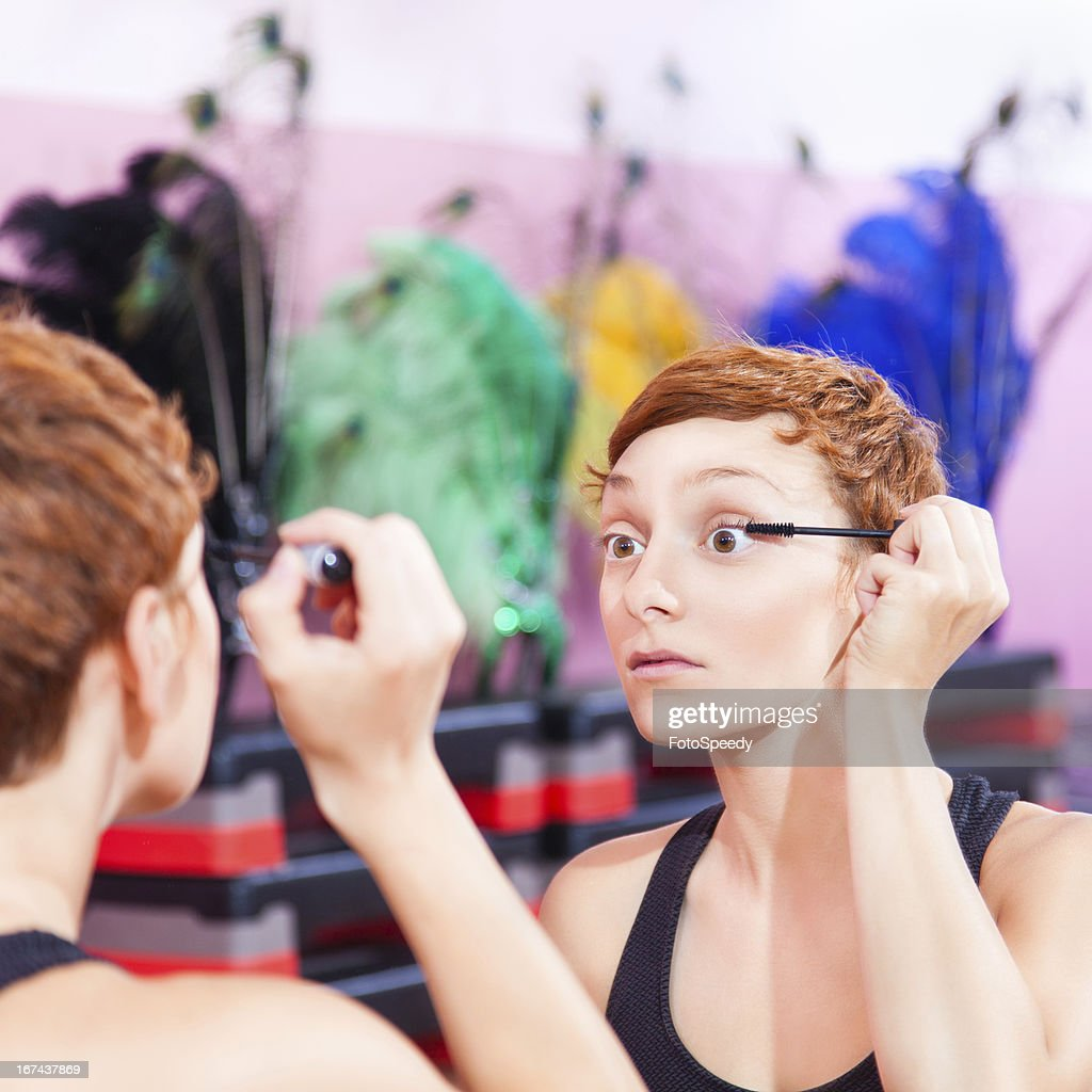 Making up for show : Stock Photo