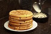 Making waffer - waffles