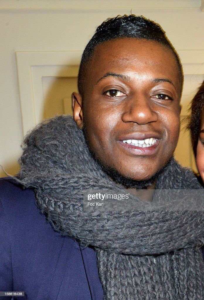 Maklor Babutulua attends the 'Starter TV' Launch Party at Espace Brey on December 20, 2012 in Paris, France.