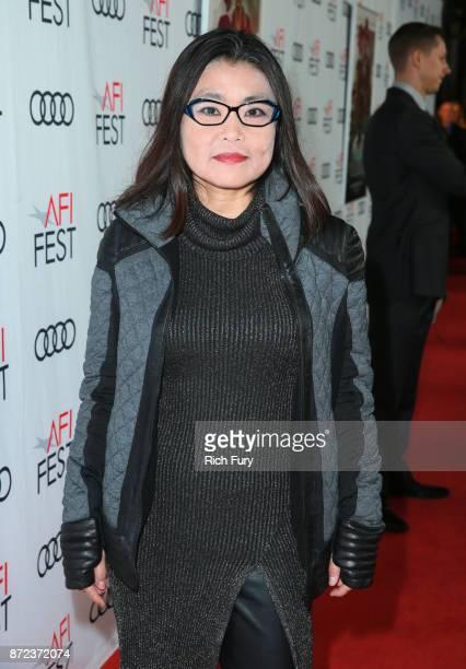 Mako Kamitsuna at the Opening Night Gala presentation of 'MUDBOUND' on November 9 2017 in Hollywood California