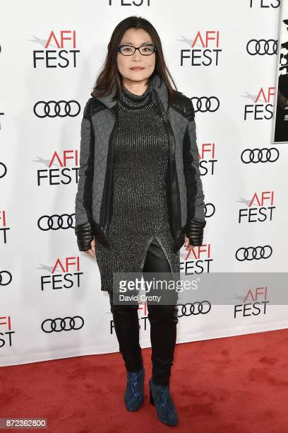 Mako Kamitsuna attends the AFI FEST 2017 Presented By Audi Opening Night Gala Screening Of Netflix's 'Mudbound' Arrivals at TCL Chinese Theatre on...