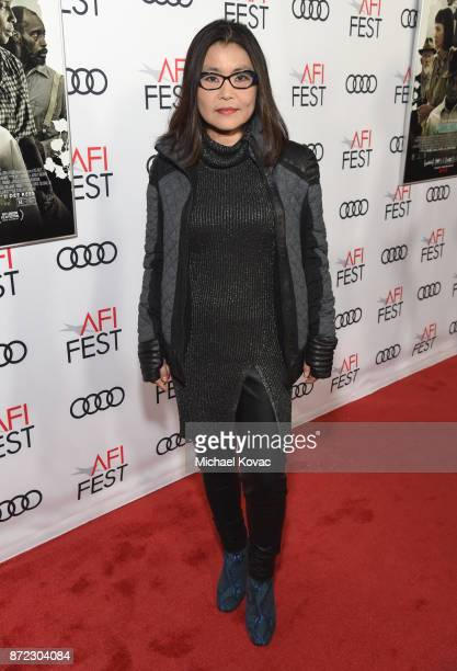 Mako Kamitsuna attends the screening of Netflix's 'Mudbound' at the Opening Night Gala of AFI FEST 2017 Presented By Audi at TCL Chinese Theatre on...