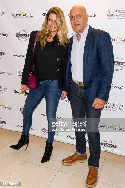 Makoke and Kiko Matamoros attend 'Corto Por Ti' charity campaign presentation at MD Anderson Cancer Center Madrid on November 3 2017 in Madrid Spain