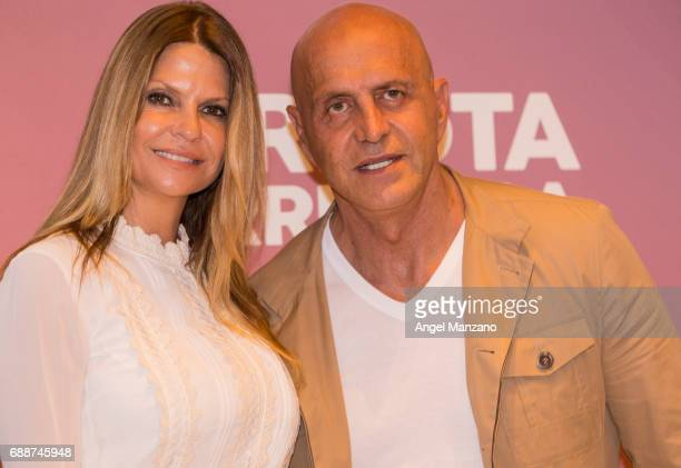 Makoke and Kiko Matamoros attends the presentation of the book 'Tu Tambien Puedes' by Carlota Corredera