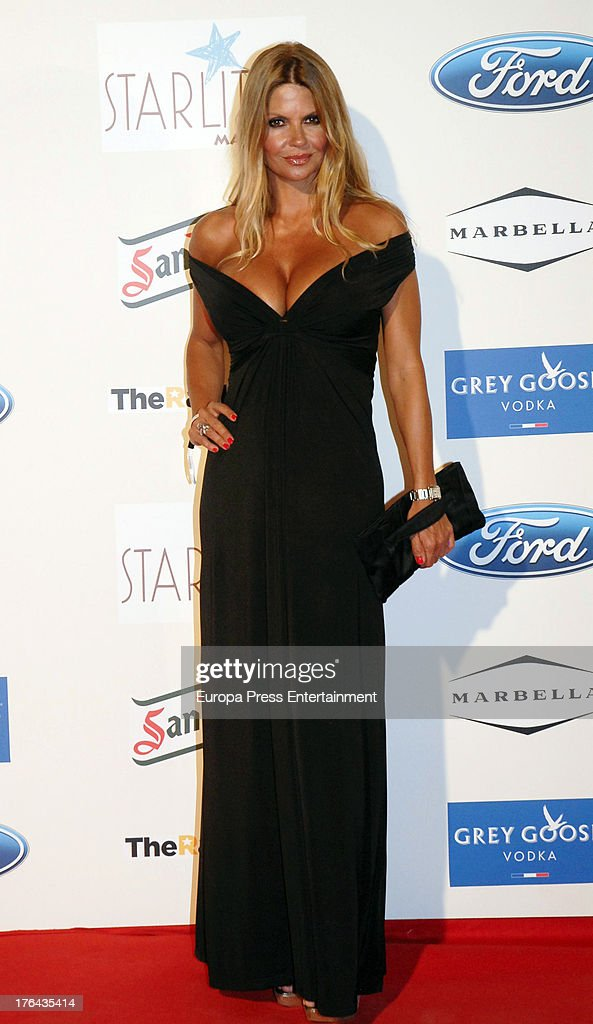 Makoke Matamoros attends the 4rd annual Starlite Charity Gala on August 10, 2013 in Marbella, Spain.