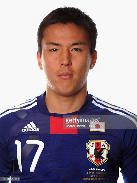 Makoto Hasebe of Japan poses during the official FIFA World Cup 2010 portrait session on June 9 2010 in George South Africa