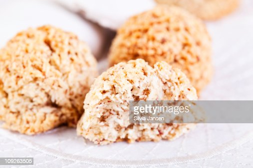 Makronen Christmas cookies : Stock Photo