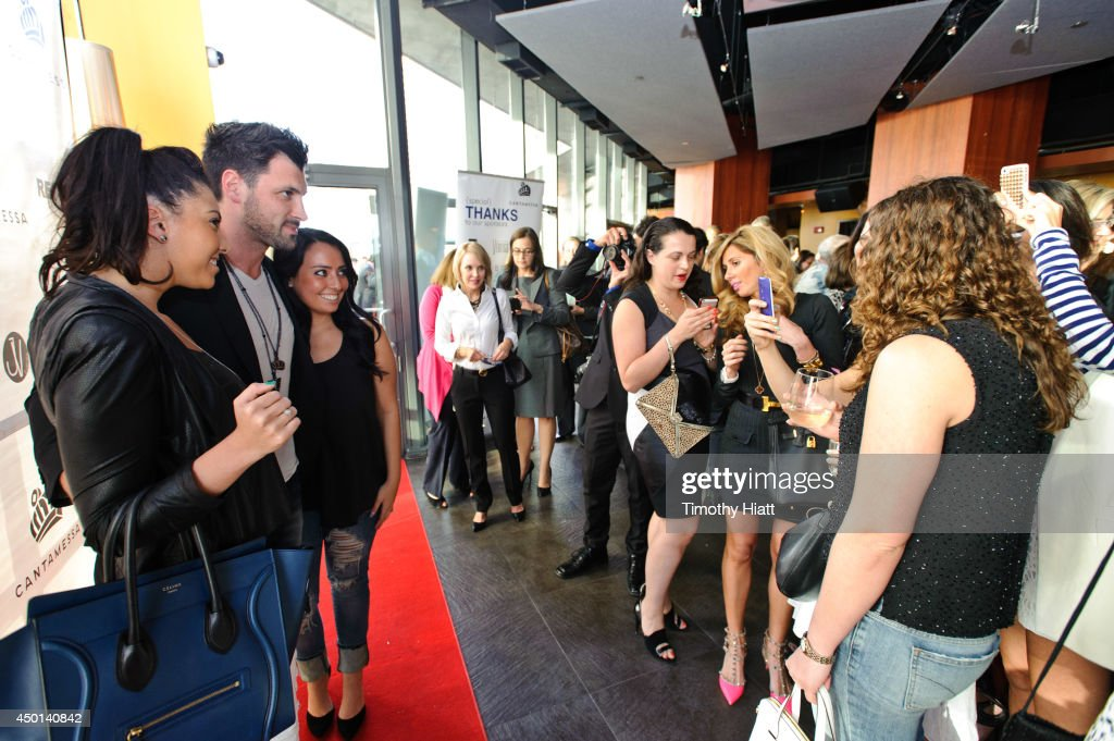 <a gi-track='captionPersonalityLinkClicked' href=/galleries/search?phrase=Maksim+Chmerkovskiy&family=editorial&specificpeople=4251170 ng-click='$event.stopPropagation()'>Maksim Chmerkovskiy</a> attend the 2014 Cantamessa Collection Preview at Vertigo Sky Lounge on June 5, 2014 in Chicago, Illinois.