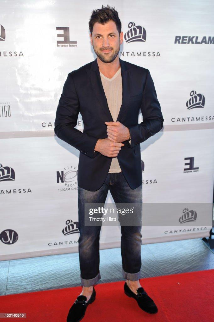 Maksim Chmerkovskiy attends the 2014 Cantamessa Collection Preview at Vertigo Sky Lounge on June 5, 2014 in Chicago, Illinois.