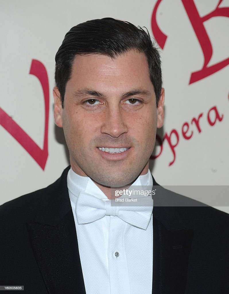 <a gi-track='captionPersonalityLinkClicked' href=/galleries/search?phrase=Maksim+Chmerkovskiy&family=editorial&specificpeople=4251170 ng-click='$event.stopPropagation()'>Maksim Chmerkovskiy</a> attends The 58th Annual Viennese Opera Ball at The Waldorf=Astoria on February 1, 2013 in New York City.