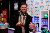 Maksim Chmerkovskiy attends the Z100 Artist Gift Lounge Presented by Pop Tarts at Z100's Jingle Ball 2012 at Madison Square Garden on December 7 2012...