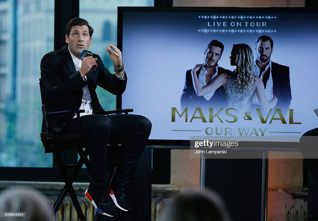 Maksim Chmerkovskiy of Dancing With The Stars Tour attends AOL Build Speaker Series at AOL Studios In New York on April 28, 2016 in New York City.