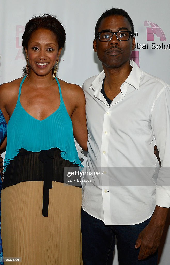 Malaak ComptonRock and Chris Rock attend the 2013 Peace Love A Cure Triple Negative Breast Cancer Foundation Benefit on May 21 2013 in Cresskill New...