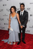 Malaak ComptonRock and Chris Rock attend the 65th Annual Tony Awards at the Beacon Theatre on June 12 2011 in New York City