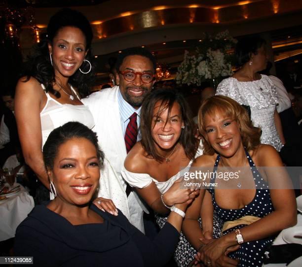 Malaak Rock Oprah Spike Lee Erica Reid and Gayle King **Exclusive**
