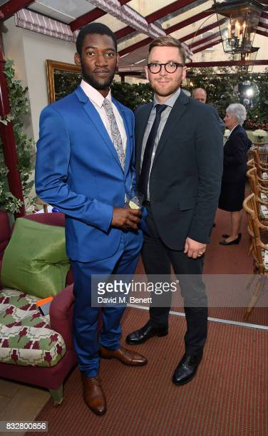 Malachi Kirby and Maxim De Turckheim attend a VIP Dinner with Longines and Simon Baker to celebrate the Commonwealth Baton arriving in London at...