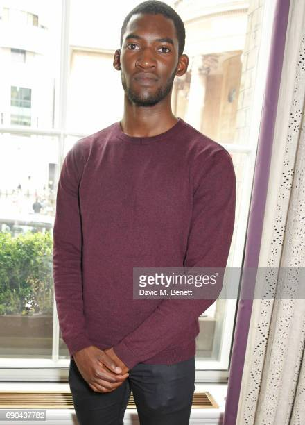 Malachi Kirby attends the BAFTA Breakthrough Brits lunch hosted by Kim Cattrall at The Langham Hotel on May 31 2017 in London England